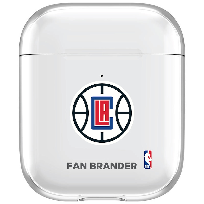 LA Clippers Clear Air Pods Case