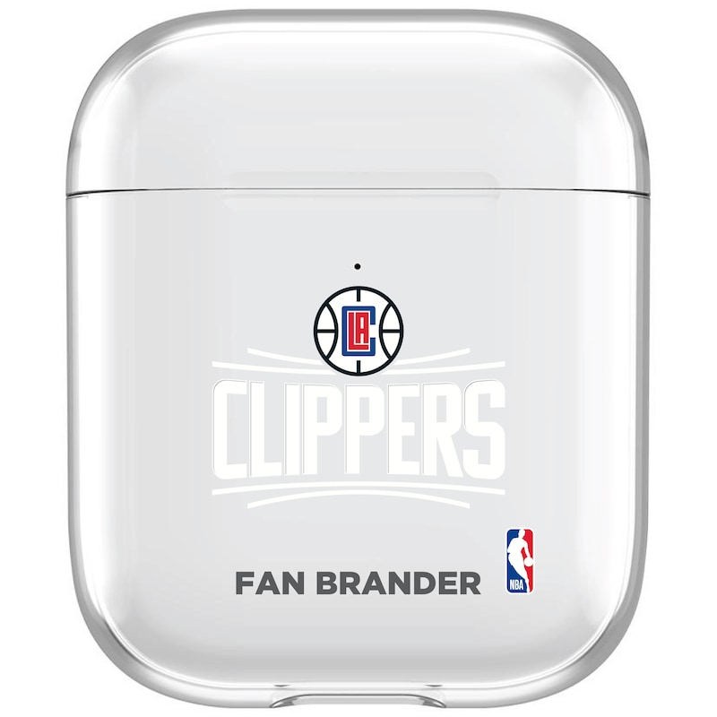 LA Clippers Air Pods Clear Case