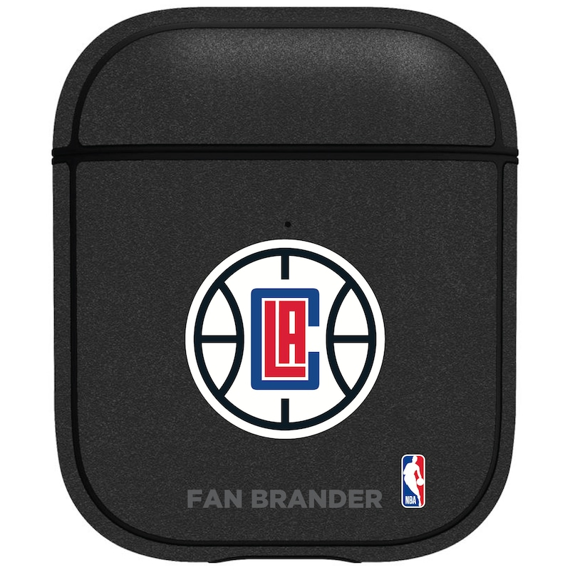 LA Clippers Air Pods Metallic Case - Black
