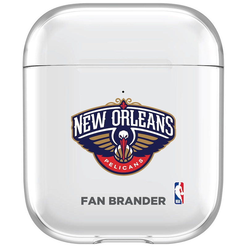 New Orleans Pelicans Clear Air Pods Case