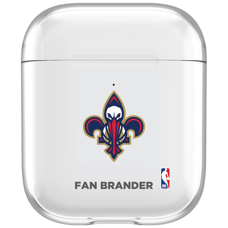New Orleans Pelicans Air Pods Clear Case