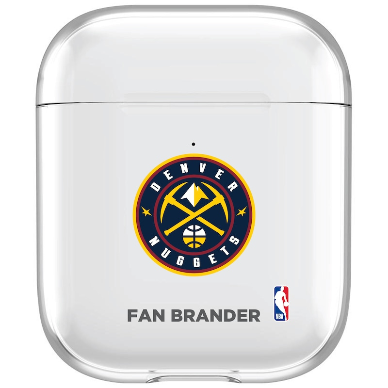 Denver Nuggets Clear Air Pods Case