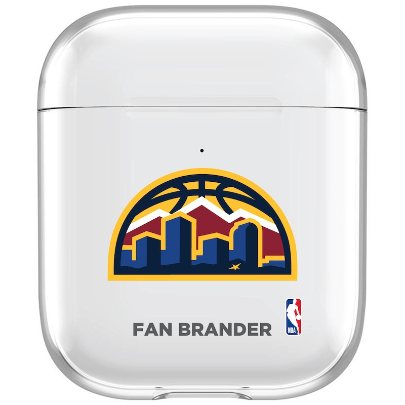 Denver Nuggets Air Pods Clear Case
