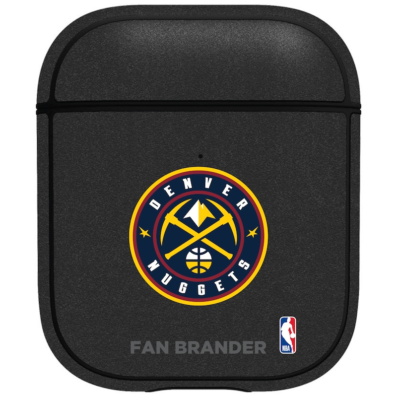 Denver Nuggets Air Pods Metallic Case - Black