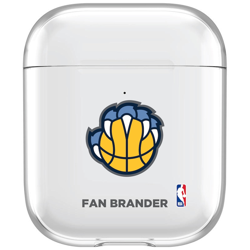 Memphis Grizzlies Air Pods Clear Case