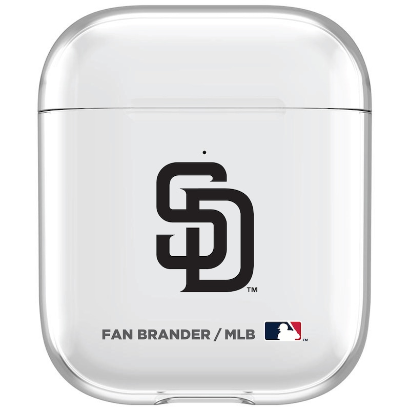San Diego Padres Clear Air Pods Case