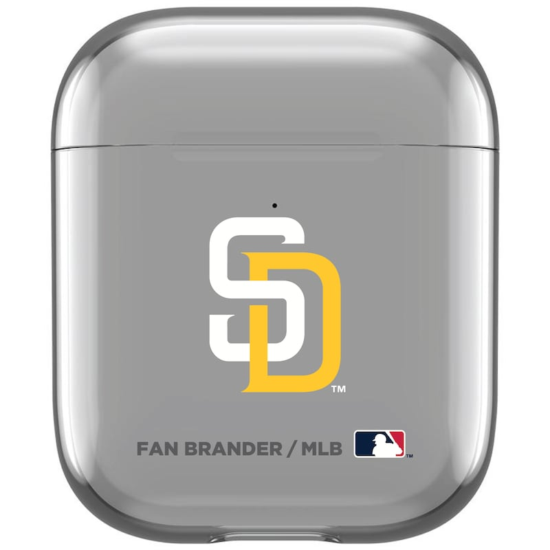 San Diego Padres Air Pods Clear Case