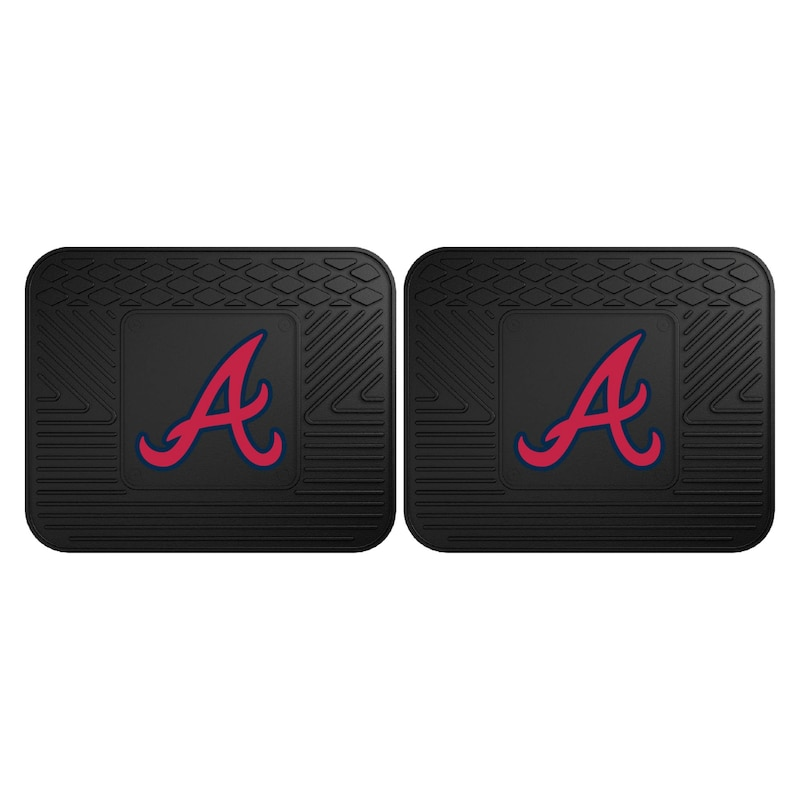 Atlanta Braves 2-Pack Utility Mat Set