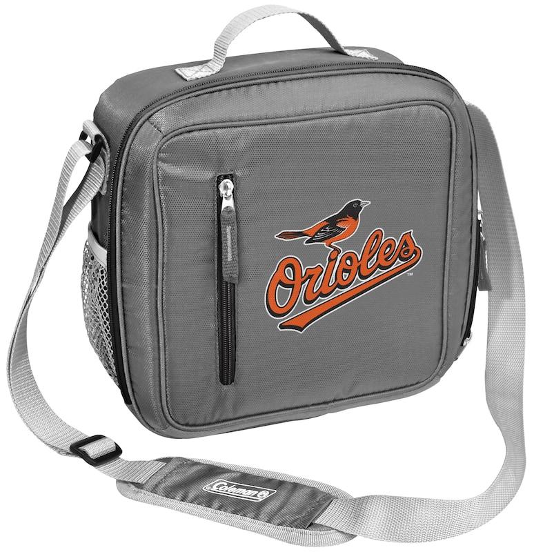 Baltimore Orioles Coleman Team Logo Messenger Cooler