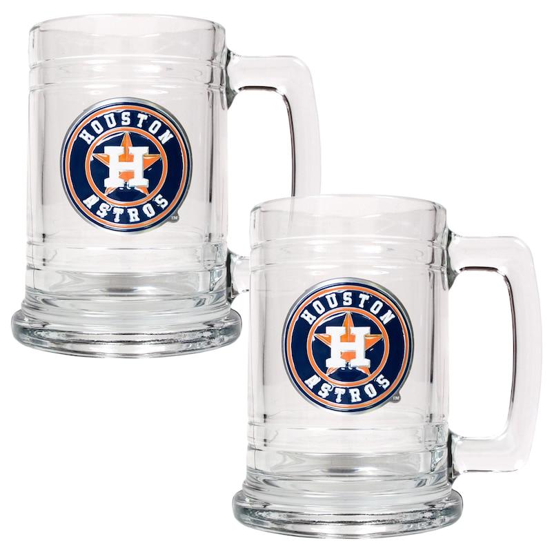 Houston Astros 2-Piece 15oz. Tankard Set