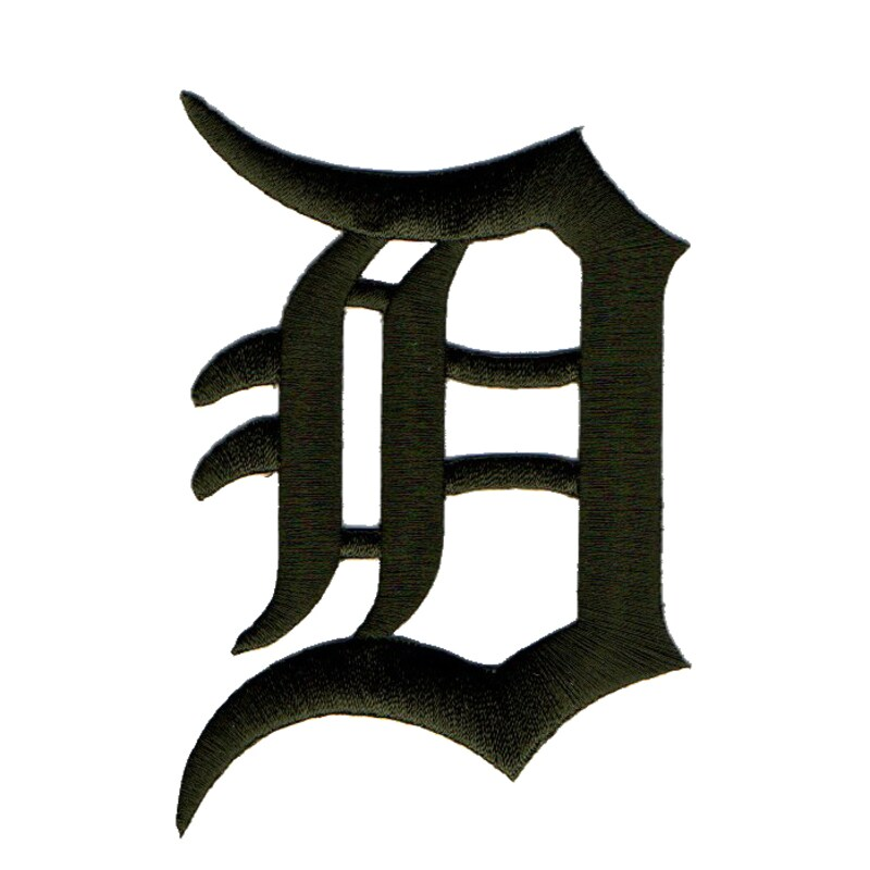 Detroit Tigers 2018 Memorial Day USMC Logo Patch