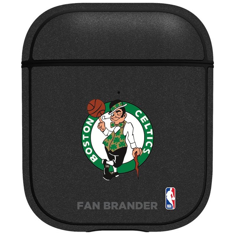 Boston Celtics Air Pods Metallic Case - Black