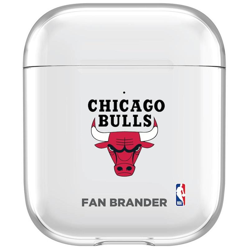 Chicago Bulls Clear Air Pods Case