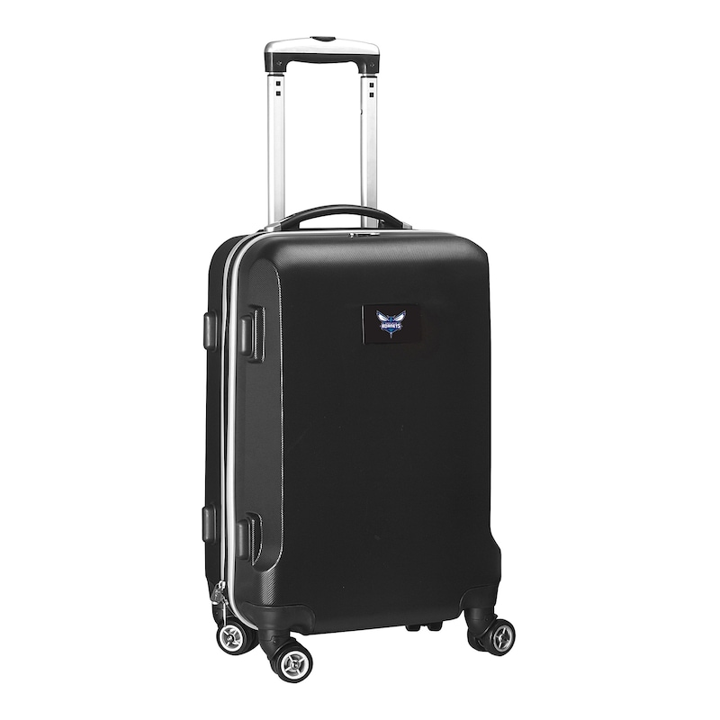 "Charlotte Hornets 21"" 8-Wheel Hardcase Spinner Carry-On - Black"