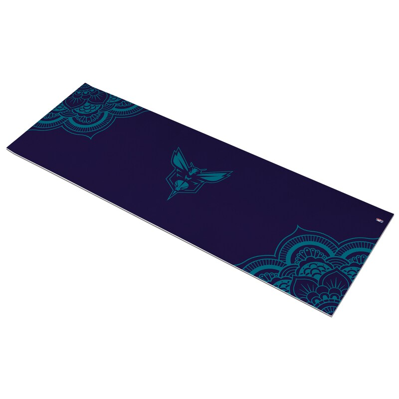 Charlotte Hornets Color Design Yoga Mat