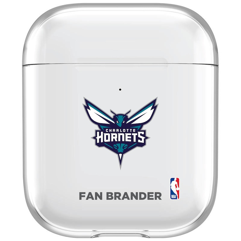 Charlotte Hornets Clear Air Pods Case