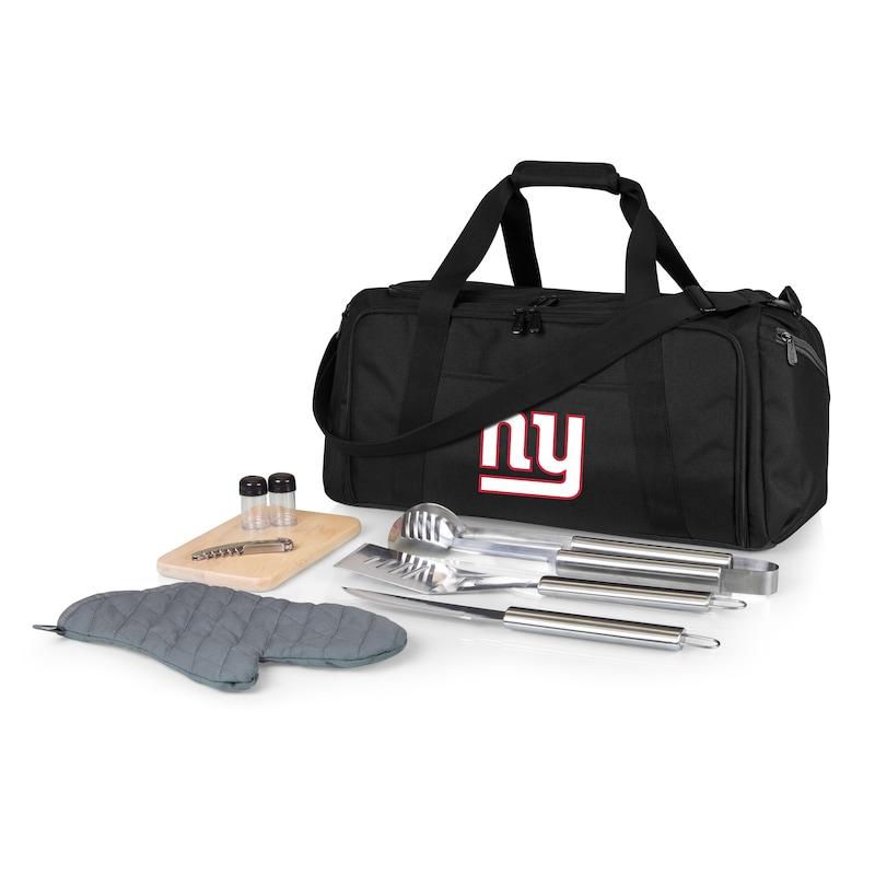 New York Giants BBQ Kit Cooler - Black