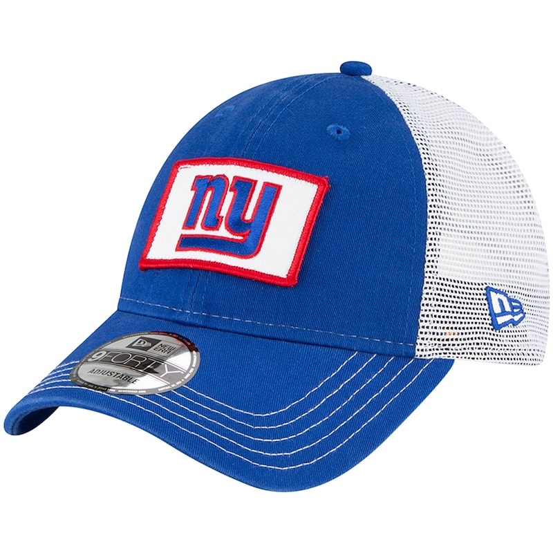 New York Giants New Era Jammer Trucker 9FORTY Snapback Hat - Royal