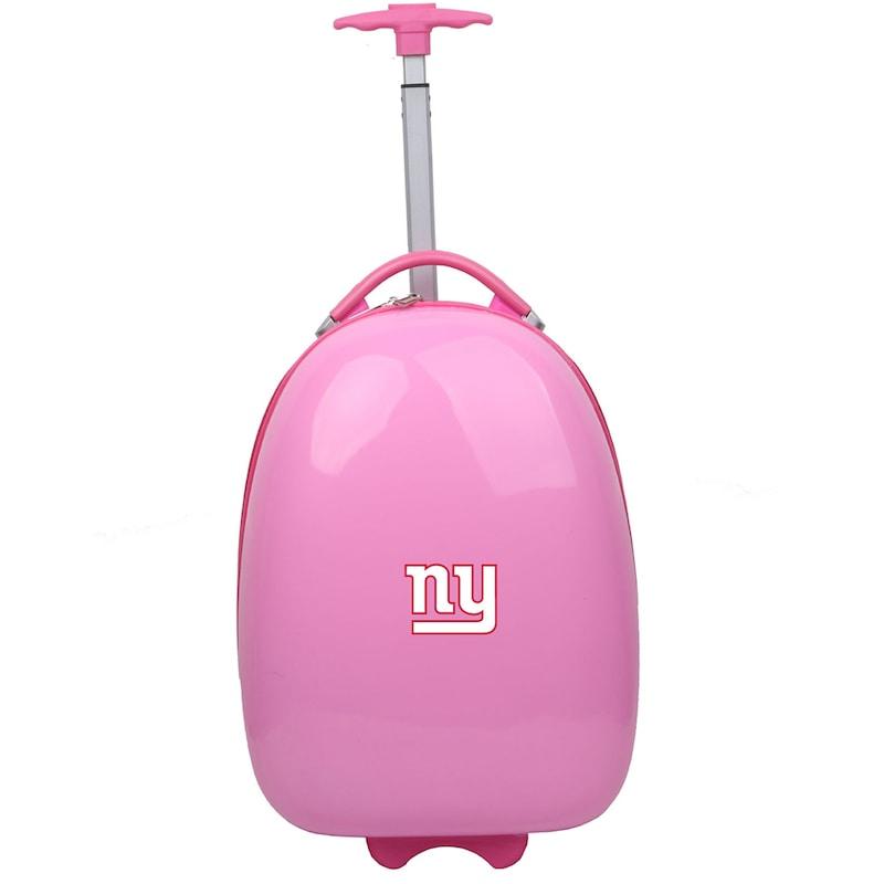 New York Giants Youth 18'' Luggage Pod - Pink