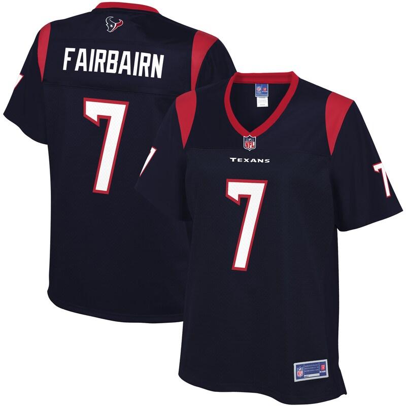 Ka'imi Fairbairn Houston Texans NFL Pro Line Women's Player Jersey - Navy