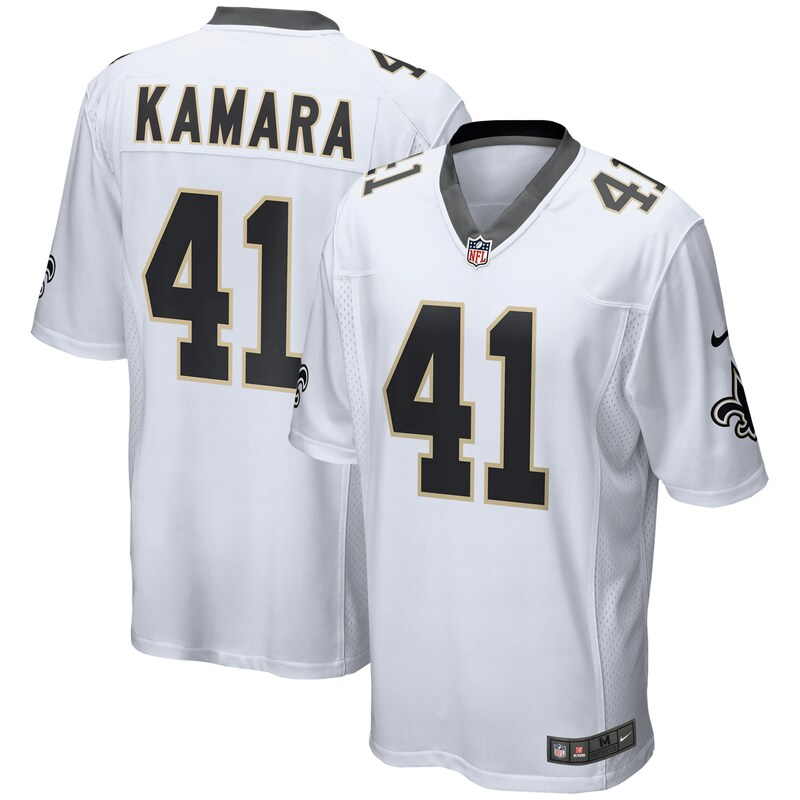 Alvin Kamara New Orleans Saints Nike Game Jersey - White