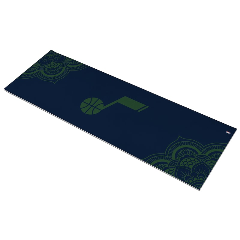 Utah Jazz Color Design Yoga Mat