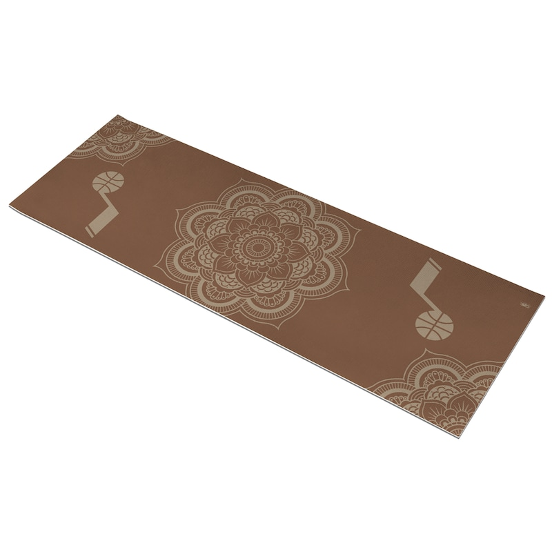 Utah Jazz Earth Design Yoga Mat