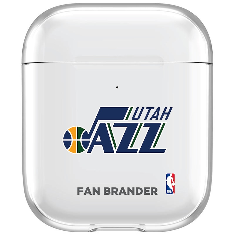 Utah Jazz Clear Air Pods Case