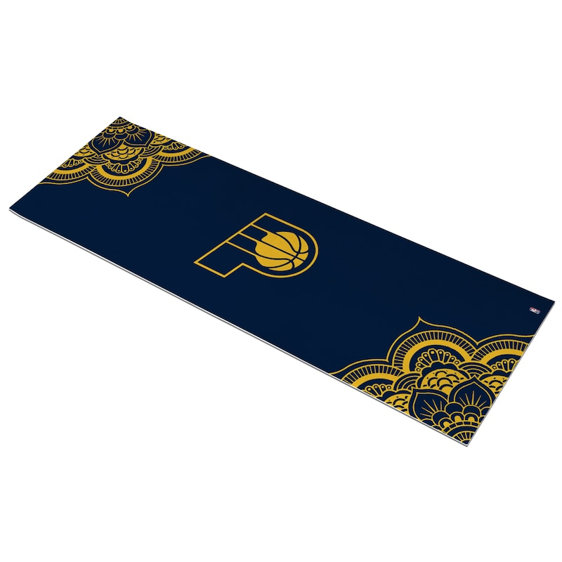 Indiana Pacers Color Design Yoga Mat