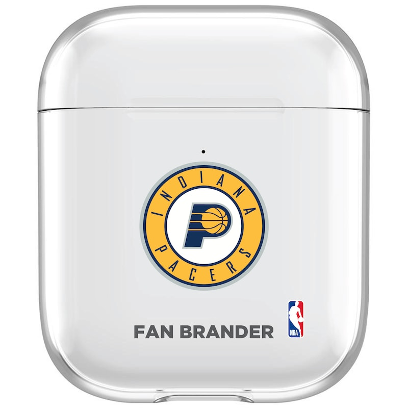 Indiana Pacers Clear Air Pods Case