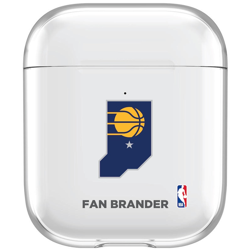 Indiana Pacers Air Pods Clear Case