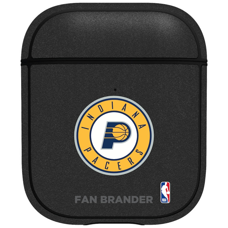 Indiana Pacers Air Pods Metallic Case - Black