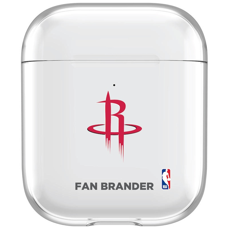 Houston Rockets Clear Air Pods Case