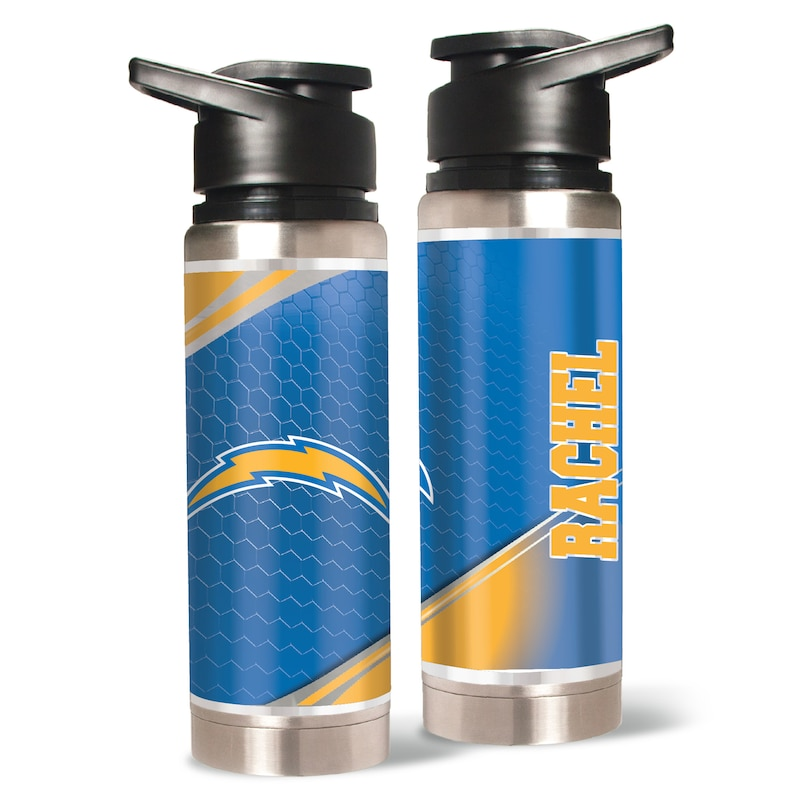 Los Angeles Chargers 20oz. Personalized Water Bottle