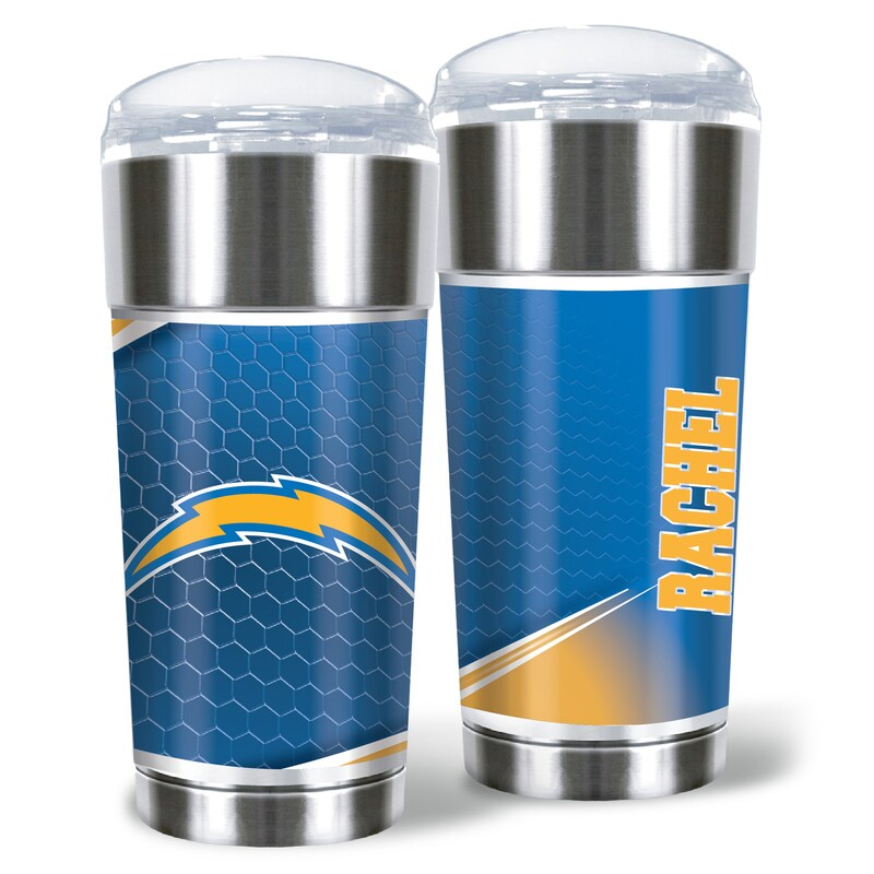 Los Angeles Chargers 24oz. Personalized Eagle Tumbler