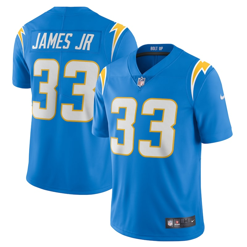 Derwin James Los Angeles Chargers Nike Vapor Limited Jersey - Powder Blue