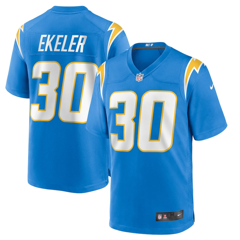 Austin Ekeler Los Angeles Chargers Nike Game Jersey - Powder Blue