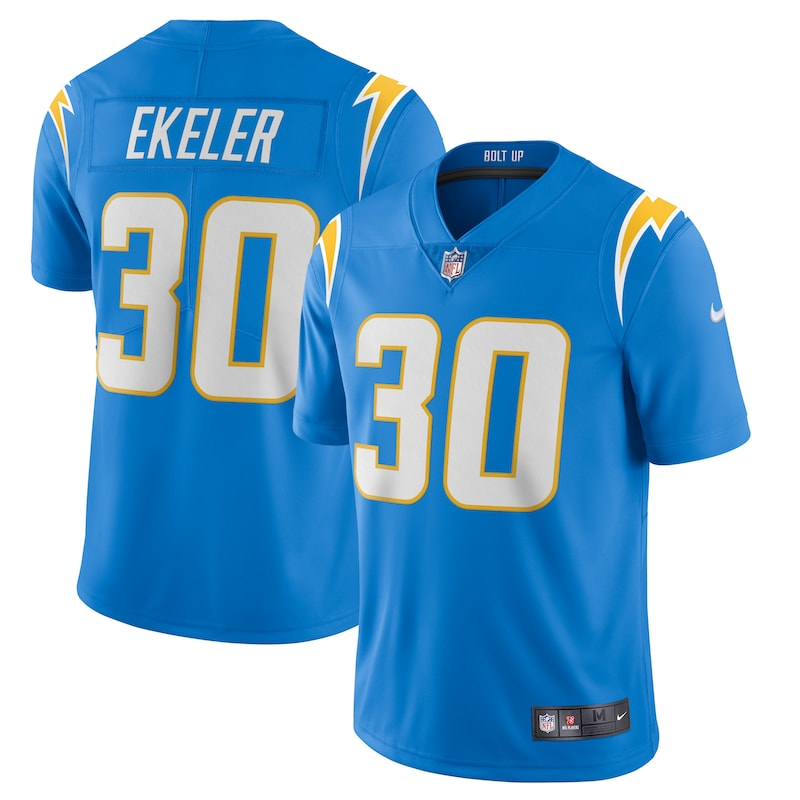 Austin Ekeler Los Angeles Chargers Nike Vapor Limited Jersey - Powder Blue