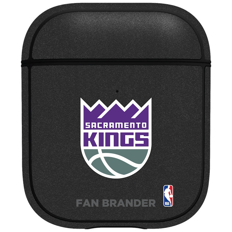 Sacramento Kings Air Pods Metallic Case - Black