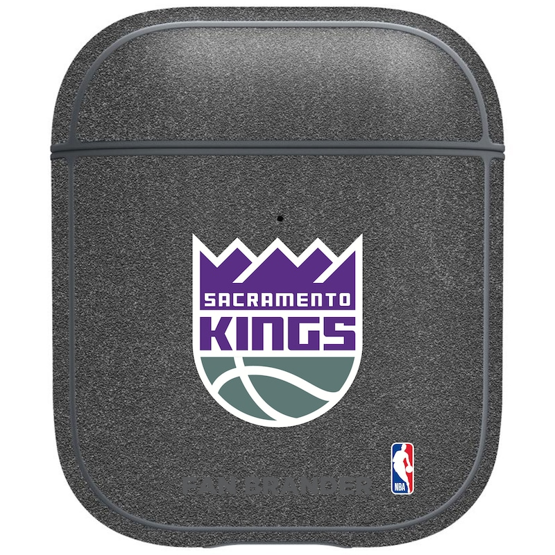 Sacramento Kings Air Pods Metallic Case - Gray