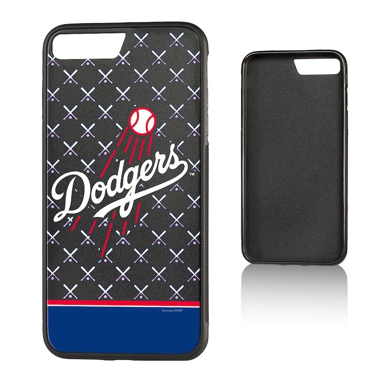 Los Angeles Dodgers iPhone 7 Plus/8 Plus Logo Stripe Bump Case