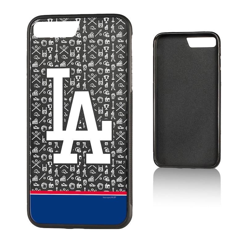 Los Angeles Dodgers iPhone 7 Plus/8 Plus Stripe Bump Case