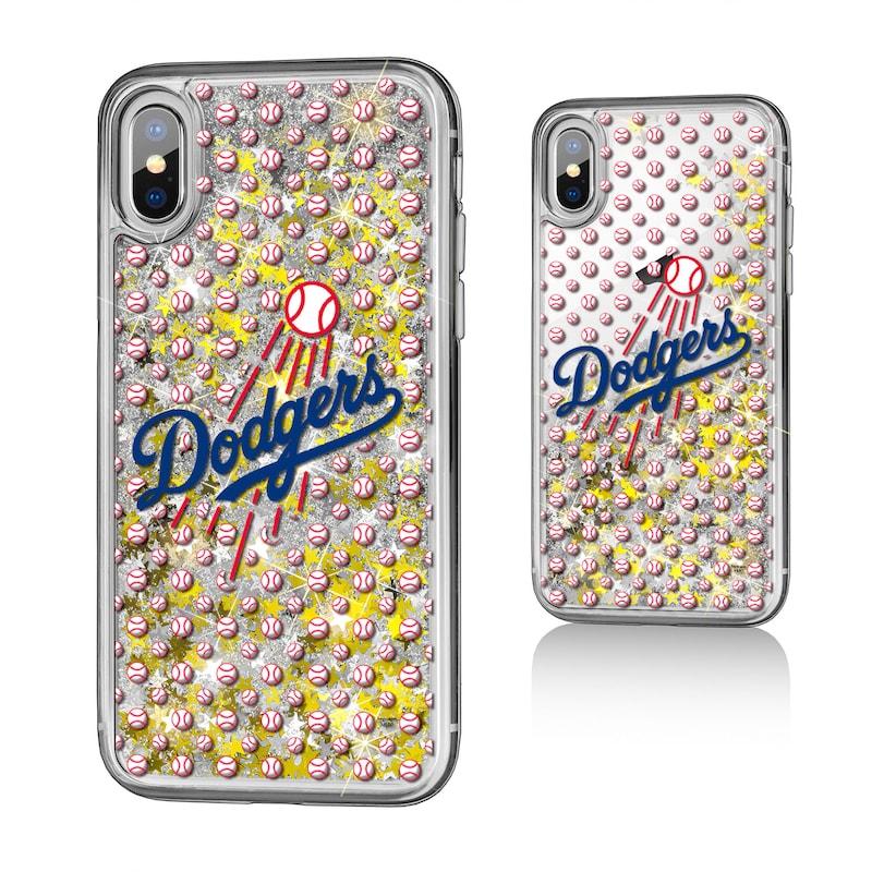 Los Angeles Dodgers iPhone X/Xs Team Glitter Case