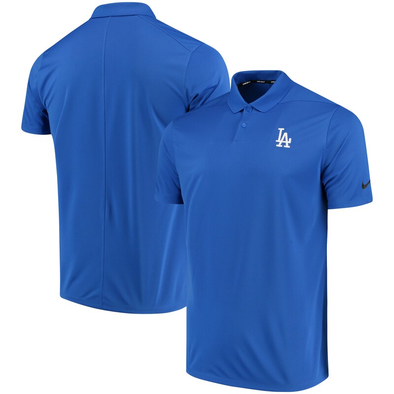 Los Angeles Dodgers Nike Golf Solid Victory Performance Polo - Royal