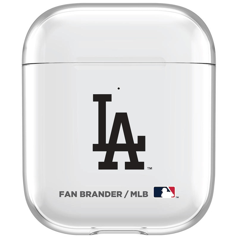 Los Angeles Dodgers Clear Air Pods Case