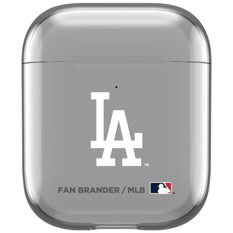 Los Angeles Dodgers Air Pods Clear Case
