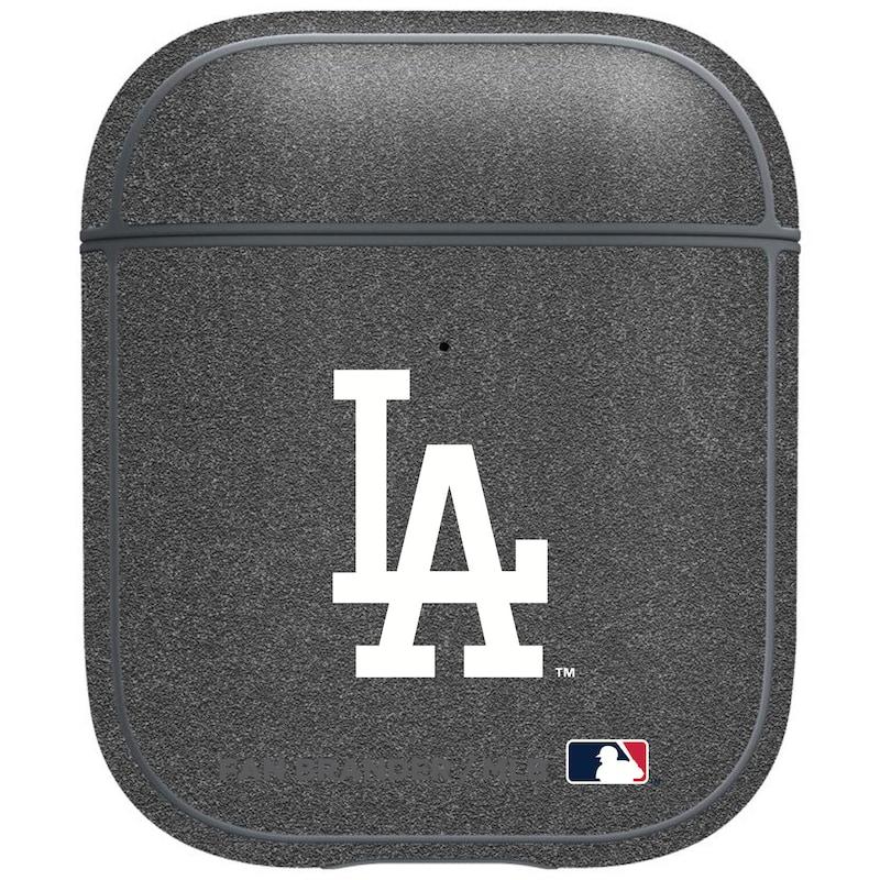 Los Angeles Dodgers Air Pods Metallic Case - Gray