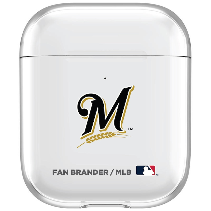 Milwaukee Brewers Clear Air Pods Case