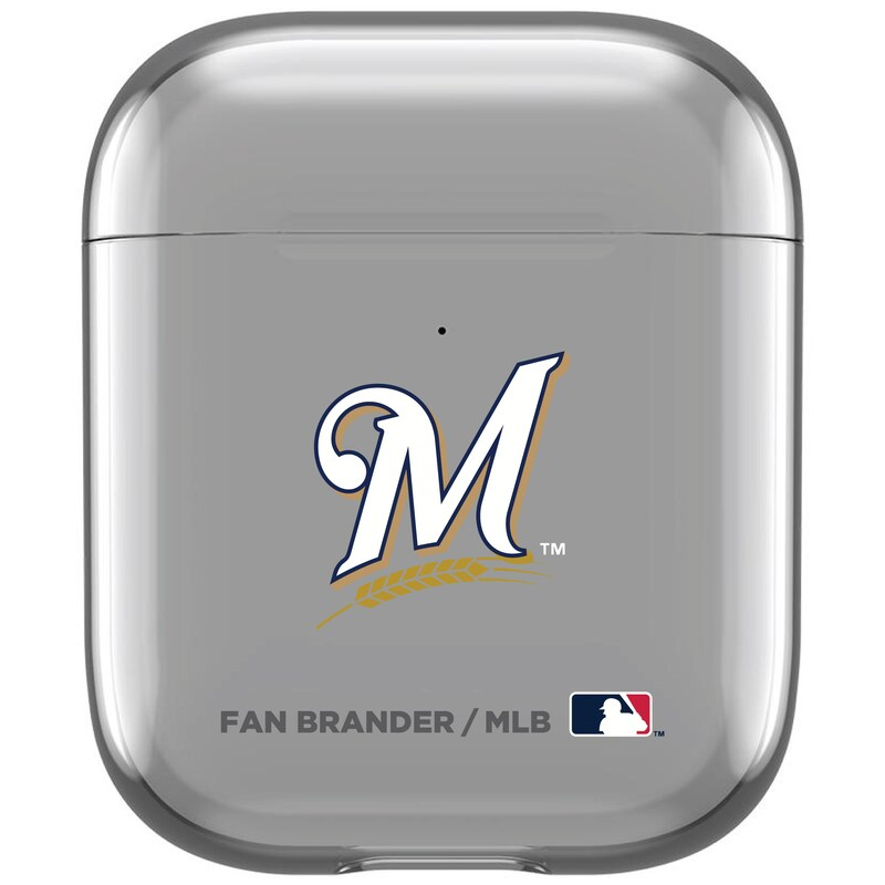 Milwaukee Brewers Air Pods Clear Case