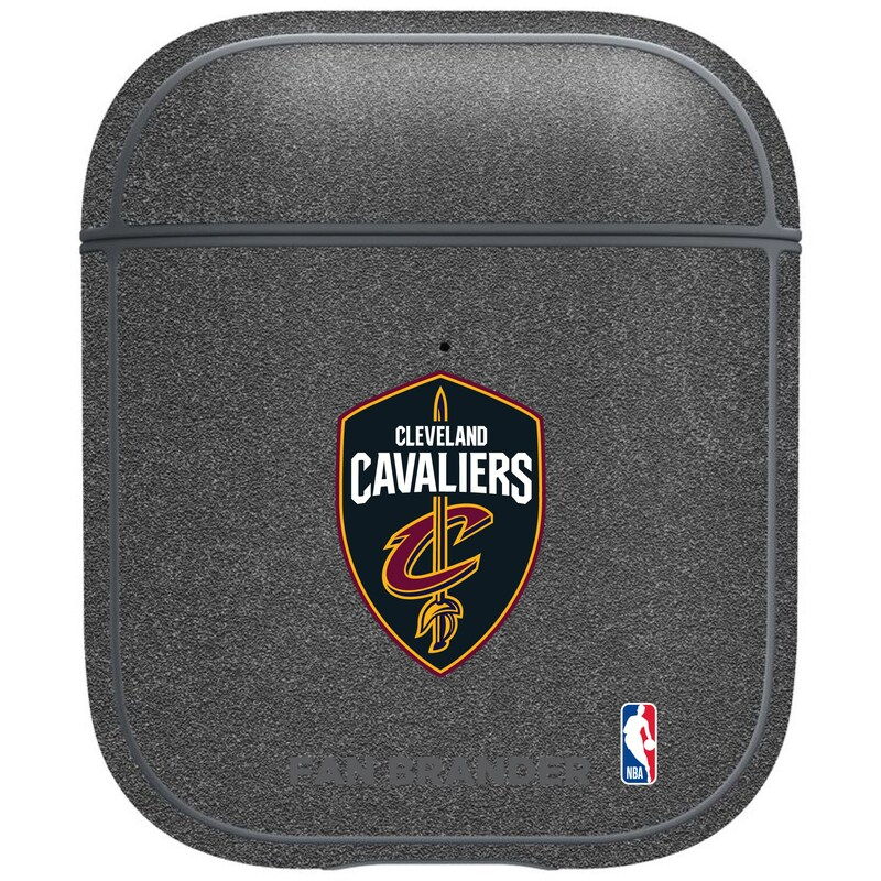 Cleveland Cavaliers Air Pods Metallic Case - Gray